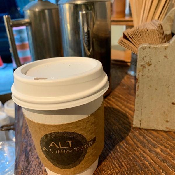Снимок сделан в ALT: A Little Taste пользователем David S. 2/4/2019