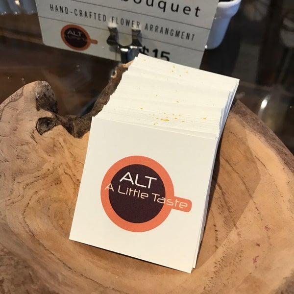 Das Foto wurde bei ALT: A Little Taste von David S. am 9/7/2018 aufgenommen