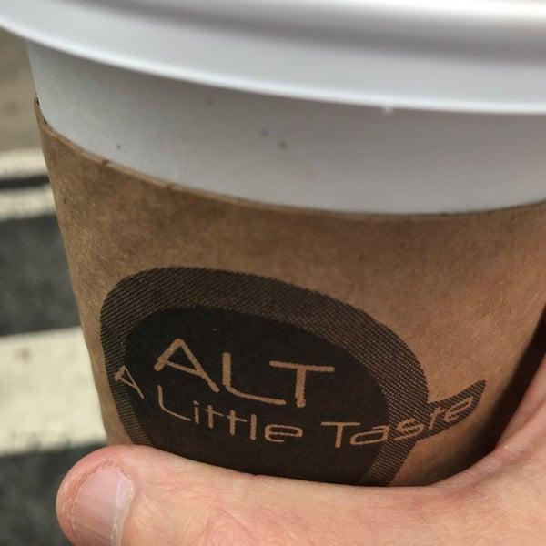 Снимок сделан в ALT: A Little Taste пользователем David S. 10/15/2018