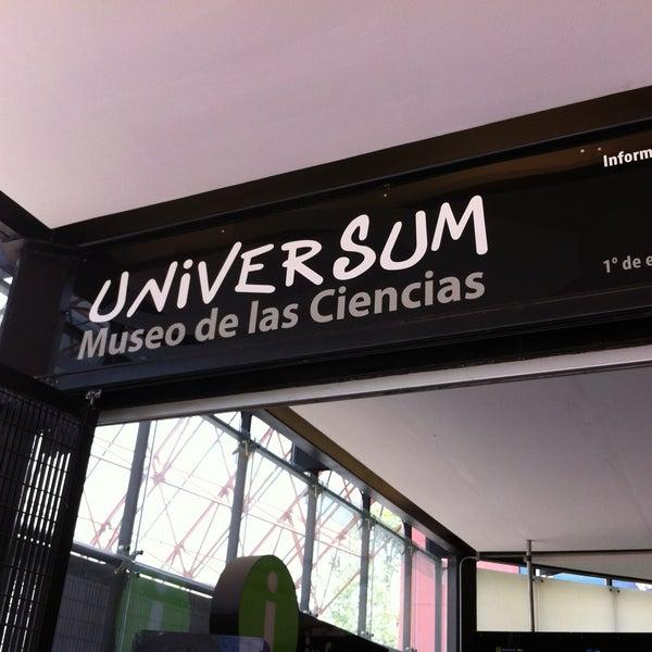 รูปภาพถ่ายที่ Universum, Museo de las Ciencias โดย Shannon G. เมื่อ 5/17/2013