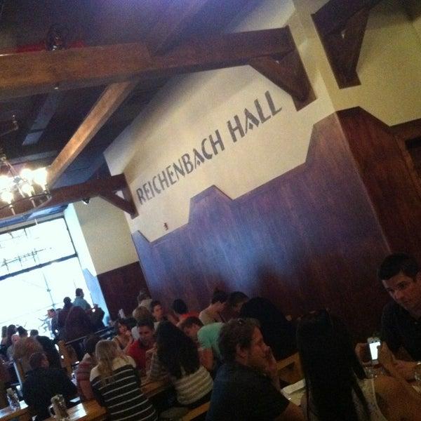 Снимок сделан в Reichenbach Hall пользователем Ted M. 5/10/2013