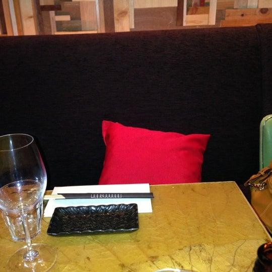 Das Foto wurde bei Mochi Restaurant von Ruud K. am 10/18/2012 aufgenommen