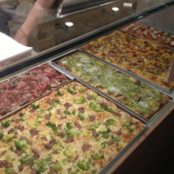 La auténtica pizza al corte en Barcelona!!!
