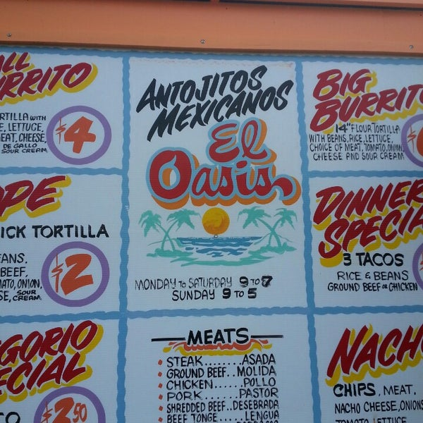 Foto tomada en El Oasis Taco Truck por John K. el 11/15/2013