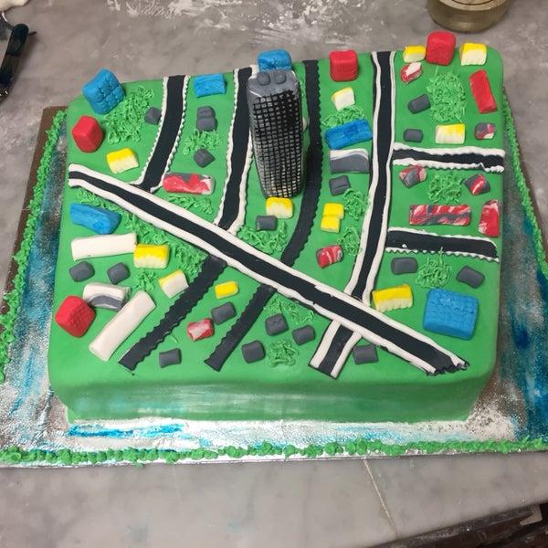 Queens museum cake