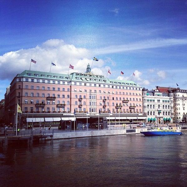 Снимок сделан в Grand Hôtel Stockholm пользователем Pernilla N. 9/3/2013