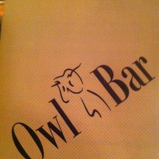 Снимок сделан в The Owl Bar пользователем Garren K. 10/10/2012