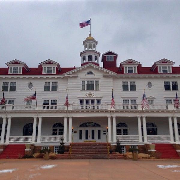 Снимок сделан в Stanley Hotel пользователем Sammy K. 1/13/2013