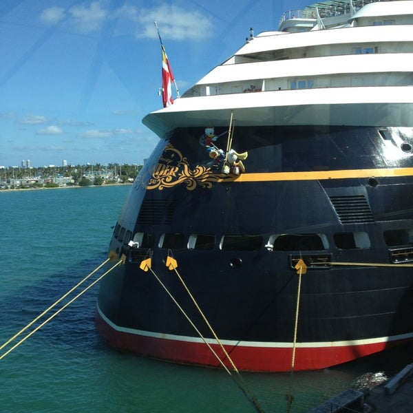 Cruise Ship Port Miami: Disney Cruise Line Terminal
