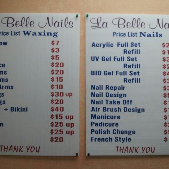La Belle Nail Salon Brockton Village Dundas Street West