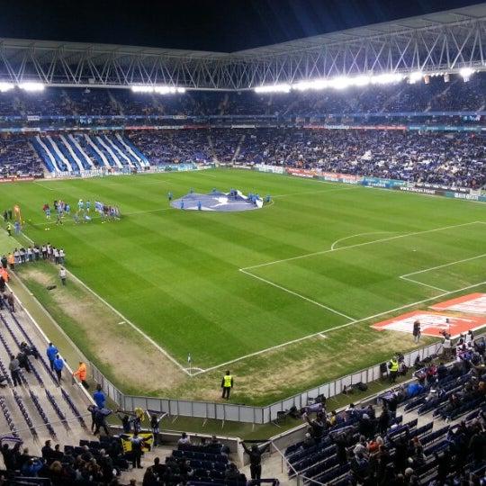 Foto diambil di RCDE Stadium oleh Jorge M. pada 2/2/2013
