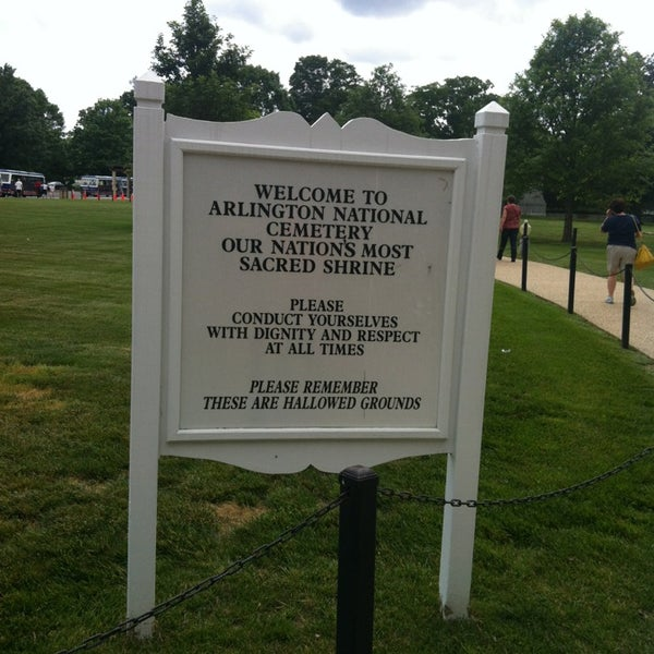 Photo prise au Arlington National Cemetery par William M. le5/23/2013