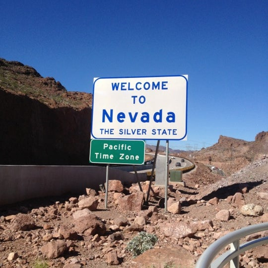 Nevada/Arizona State Border - Border Crossing