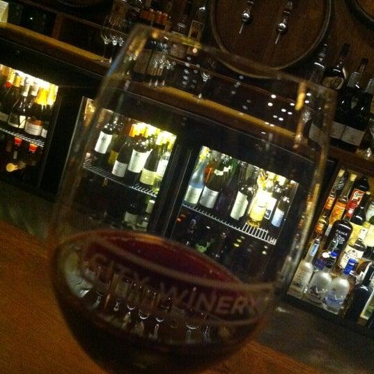 11/20/2012 tarihinde Amyziyaretçi tarafından City Winery'de çekilen fotoğraf