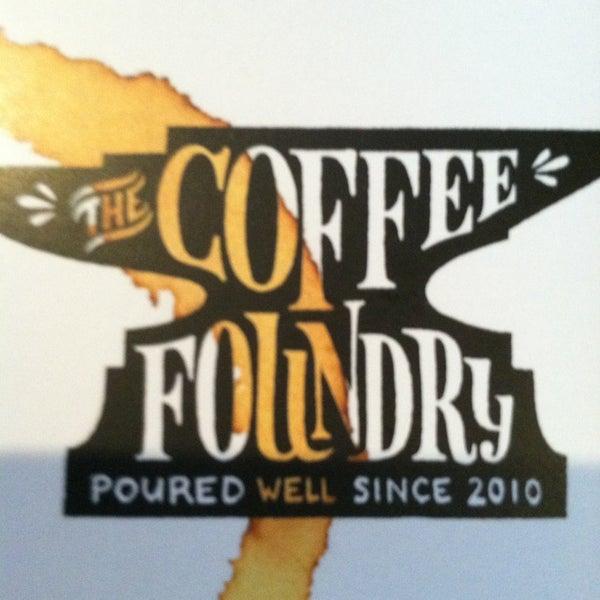 Das Foto wurde bei Coffee Foundry von Shannon M. am 4/6/2013 aufgenommen