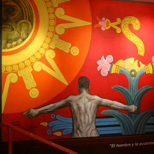 """รูปภาพถ่ายที่ Museo Nacional de la Acuarela """"Alfredo Guati Rojo"""" โดย Juristas UNAM เมื่อ 10/26/2012"""