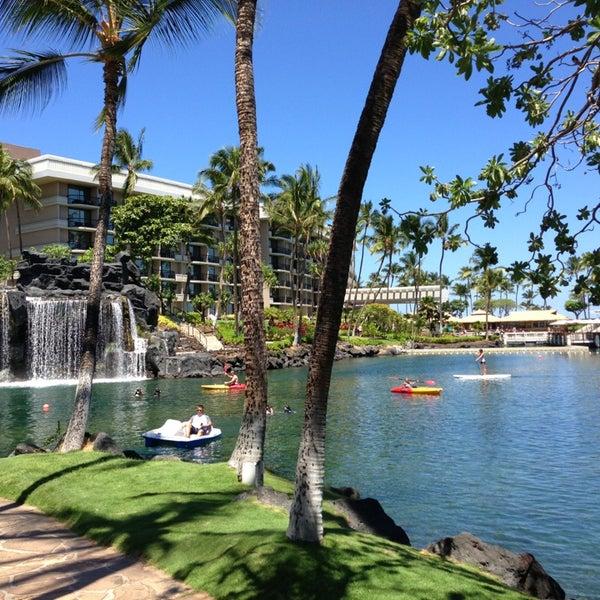 Foto tomada en Hilton Waikoloa Village por Taehwan S. el 7/28/2013