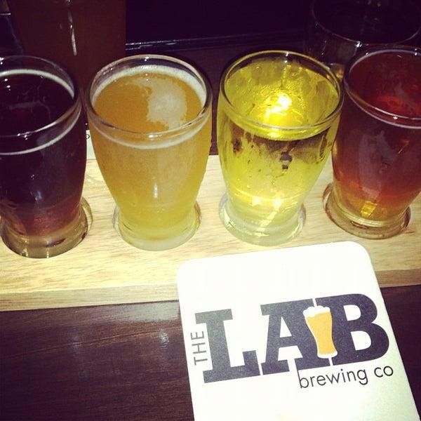 Das Foto wurde bei The Lab Brewing Co. von Diane am 12/1/2012 aufgenommen