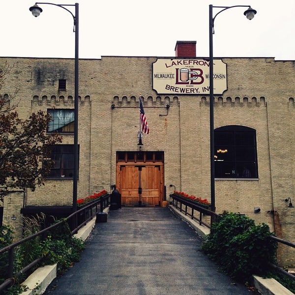 Photo prise au Lakefront Brewery par Shaun M. le10/18/2013
