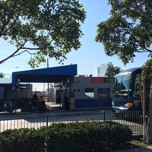 Bus Station In San Diego