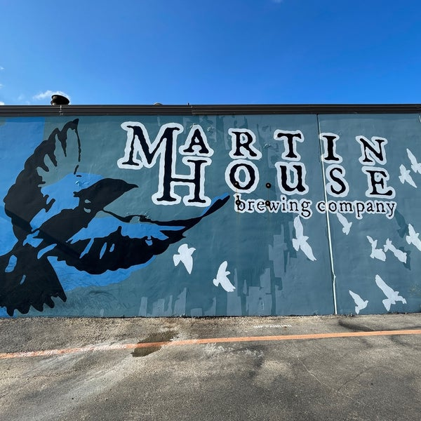 Photo taken at Martin House Brewing Company by Ted R. on 8/15/2021