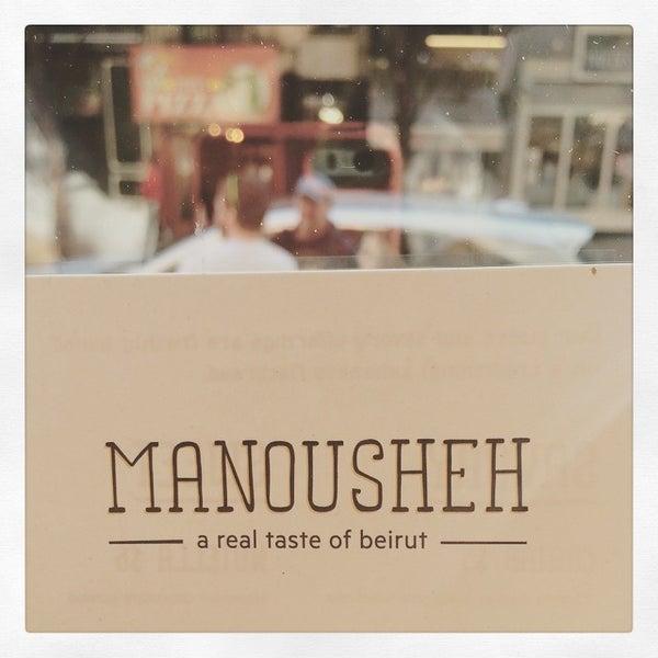5/23/2015 tarihinde Maya N.ziyaretçi tarafından Manousheh'de çekilen fotoğraf