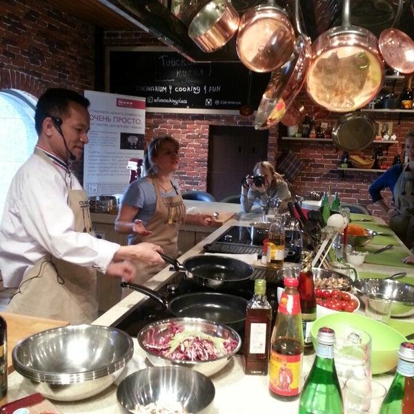 รูปภาพถ่ายที่ Culinaryon โดย Nadezhda M. เมื่อ 4/20/2013