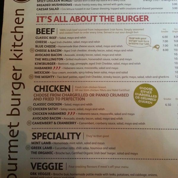 Photos At Gourmet Burger Kitchen Dublin Dublin City