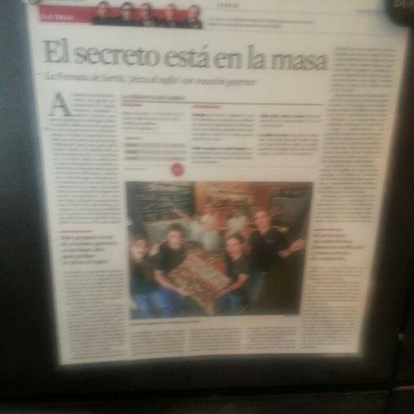 รูปภาพถ่ายที่ La Fermata de Sarrià โดย Carlos S. เมื่อ 1/10/2014