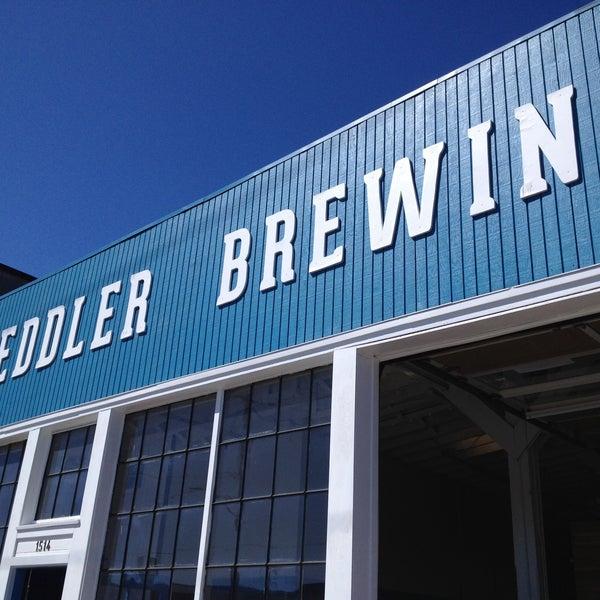 Снимок сделан в Peddler Brewing Company пользователем Erin T. 5/4/2013