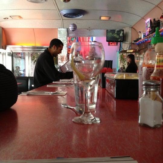 Снимок сделан в Silk City Diner Bar & Lounge пользователем Chris 12/1/2012