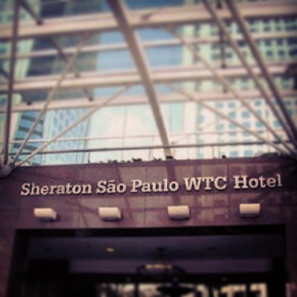 Foto scattata a Sheraton São Paulo WTC Hotel da Juliano M. il 7/26/2013