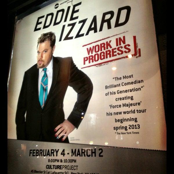 Снимок сделан в The Lynn Redgrave Theater at Culture Project пользователем jon p. 2/26/2013