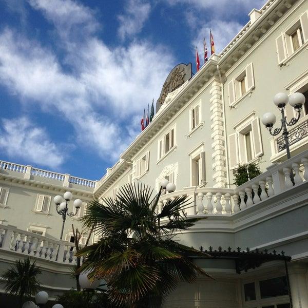 9/18/2013にPier Luca S.がGrand Hotel Des Bainsで撮った写真