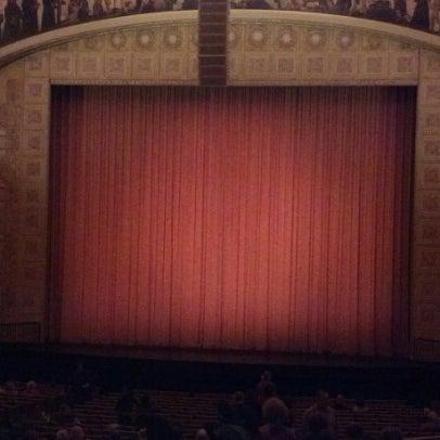 11/4/2012 tarihinde Daniel M.ziyaretçi tarafından Auditorium Theatre'de çekilen fotoğraf