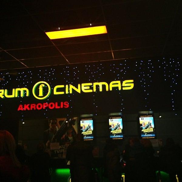 Foto scattata a Forum Cinemas Akropolis da Rimas il 1/4/2013