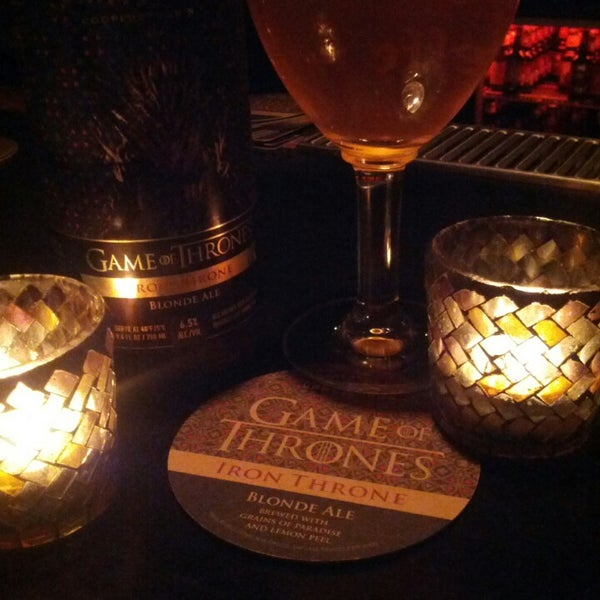 Mosaic is now serving Game of Thrones beer! I had the Iron Throne Blonde Ale. Deelish!