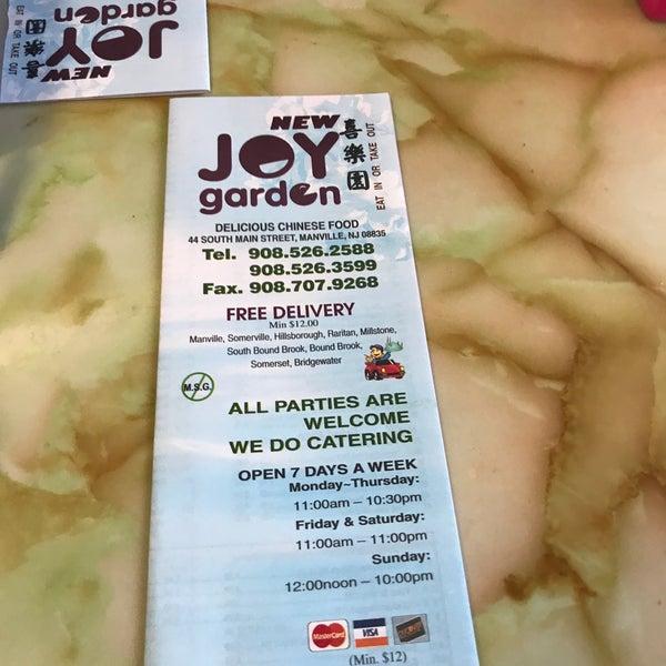 Photos At New Joy Garden 44 S Main St