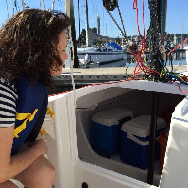 Photo prise au Seattle Sailing Club par Mark J. le7/26/2014