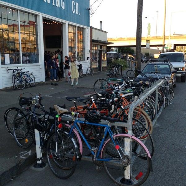 Use the new bike rack.