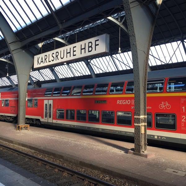 Post Bahnhof Karlsruhe