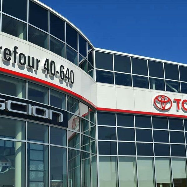 Carrefour 40 640 >> Photos At Carrefour 40 640 Toyota 100 Ch Des Quarante Arpents