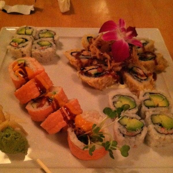 Photo taken at Asian Gourmet & Sushi Bar by Susan K. on 2/