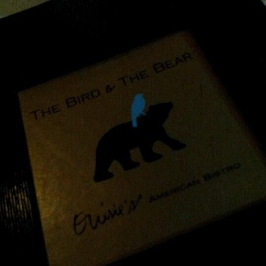 Photo prise au The Bird and the Bear par edith c. le11/9/2012