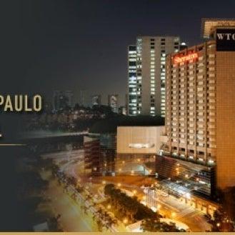 Foto scattata a Sheraton São Paulo WTC Hotel da Rô D. il 10/27/2012