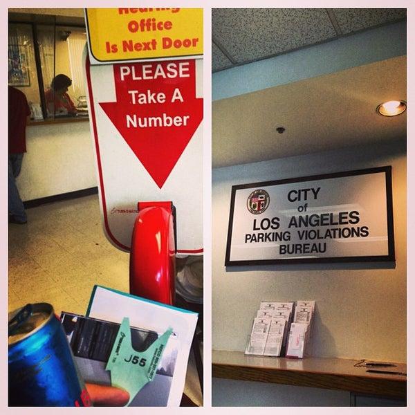 City Of Los Angeles Parking Violation >> Photos At City Of Los Angeles Parking Violation Bureau