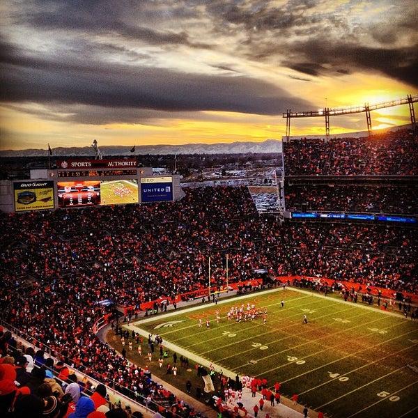 Foto diambil di Broncos Stadium at Mile High oleh Ryan K. pada 12/31/2012