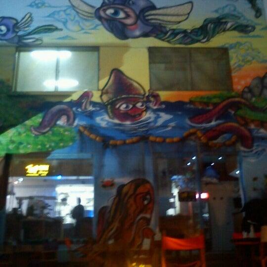 3/1/2013 tarihinde Priscilla L.ziyaretçi tarafından Terraza Isidora Beach Club'de çekilen fotoğraf