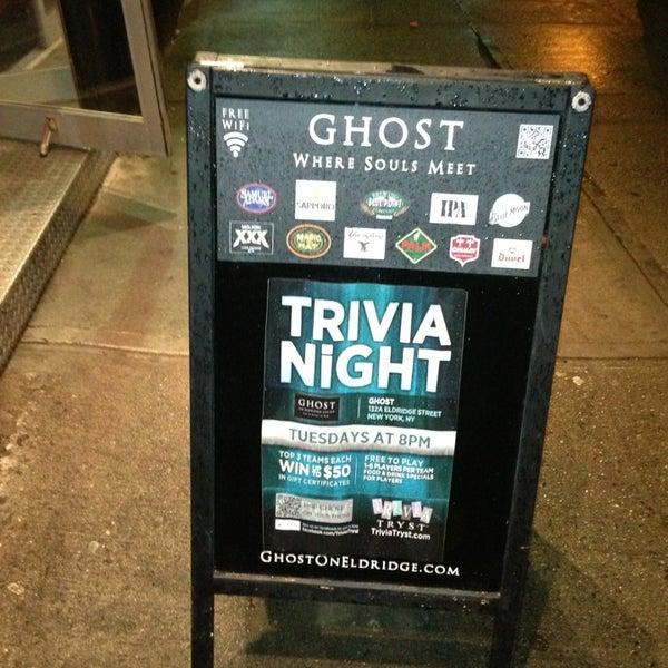 1/30/2013 tarihinde John P.ziyaretçi tarafından Ghost'de çekilen fotoğraf