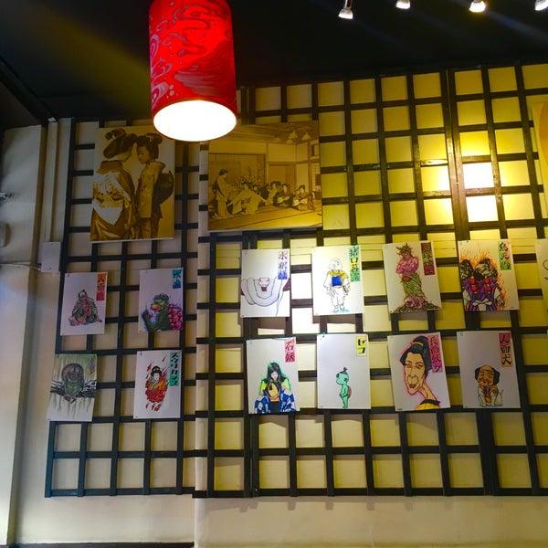 9/17/2016 tarihinde Vincent F.ziyaretçi tarafından Banyi Japanese Dining'de çekilen fotoğraf